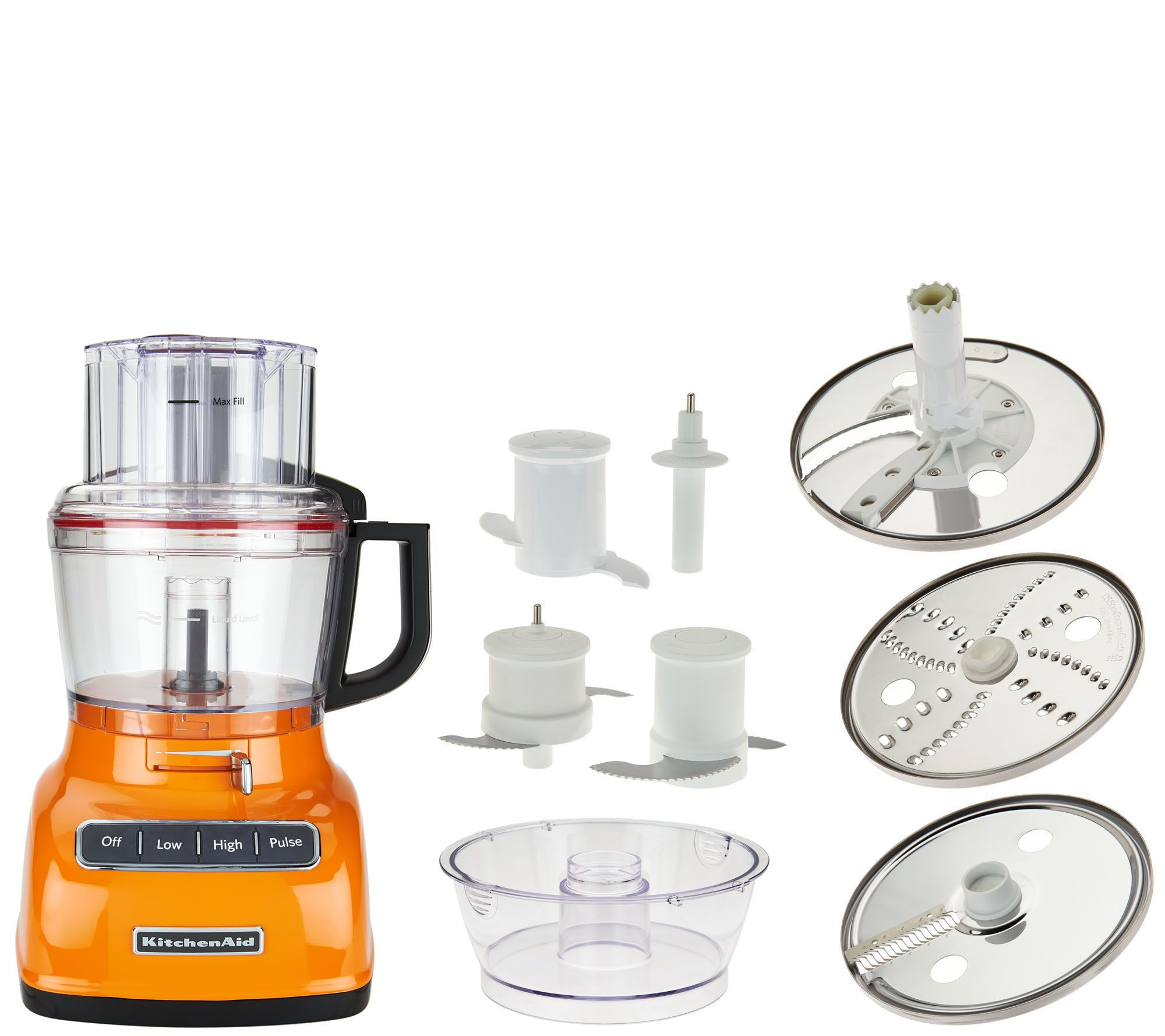 Attirant KitchenAid 9 Cup ExactSlice Food Processor W/Julienne Disc   Page 1 U2014  QVC.com
