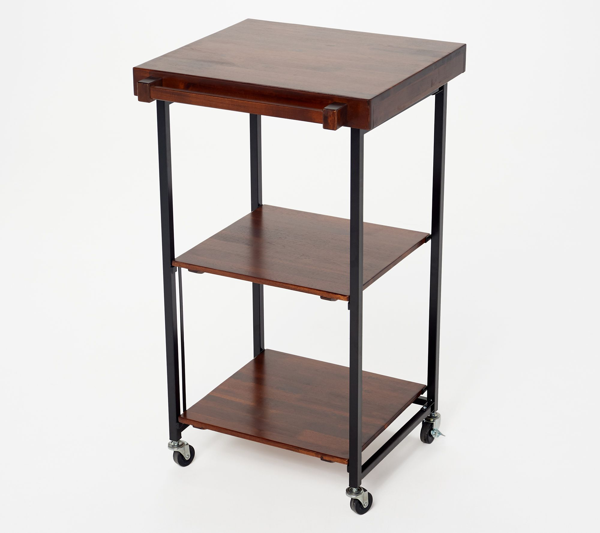 Oasis Folding Kitchen Storage Cart W
