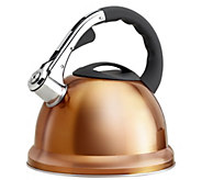Epicurious 2.85-qt Stainless Steel Whistling Teakettle - K305633