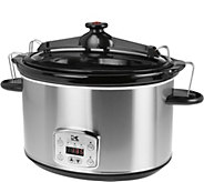 Kalorik 8-qt Digital Slow Cooker with Locking Lid - K375733