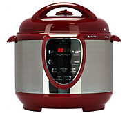 Cooks Essentials 4qt. SS Digital Pressure Cooker w/ Accessories - K43833
