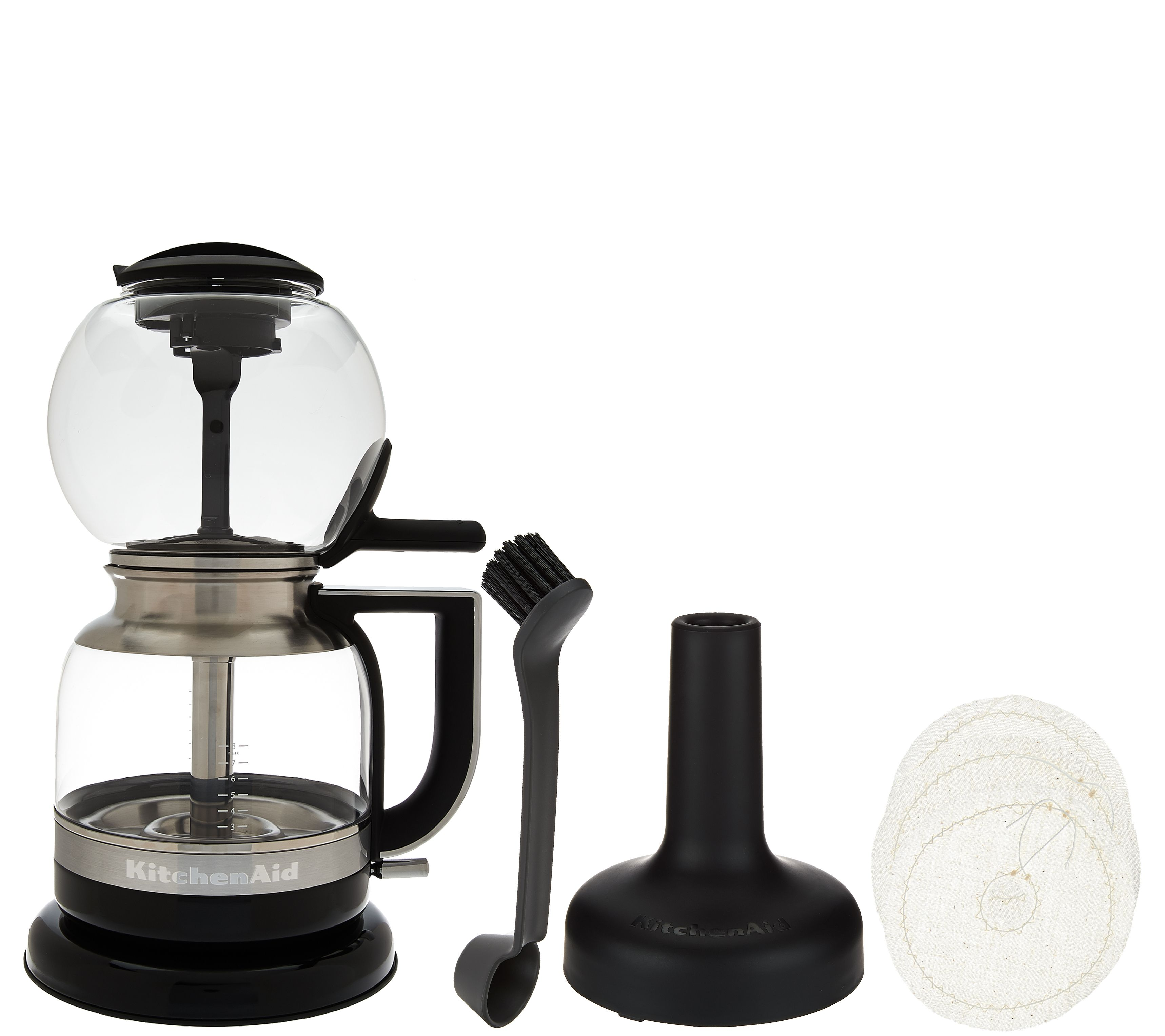 Kitchenaid Siphon Coffee Brewer With Accessories Page 1 Syphon Maker Electric