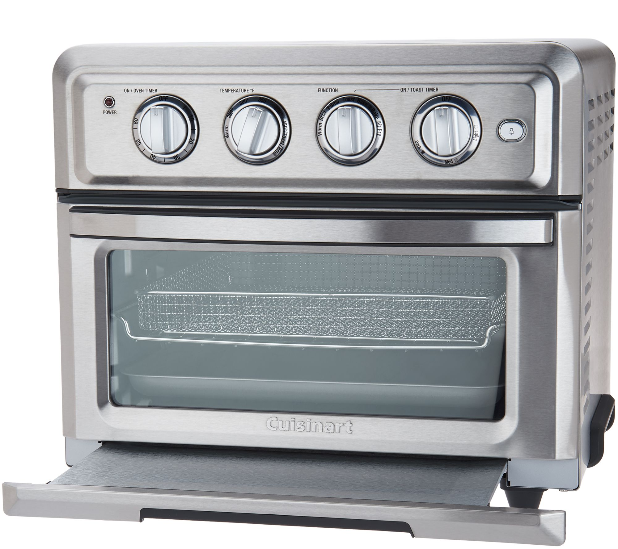 Cuisinart Convection Toaster Oven Air Fryer with Light - Page 1 ...