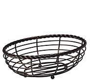 Gourmet Basics by Mikasa Rope Oval Bread Basket - K305035