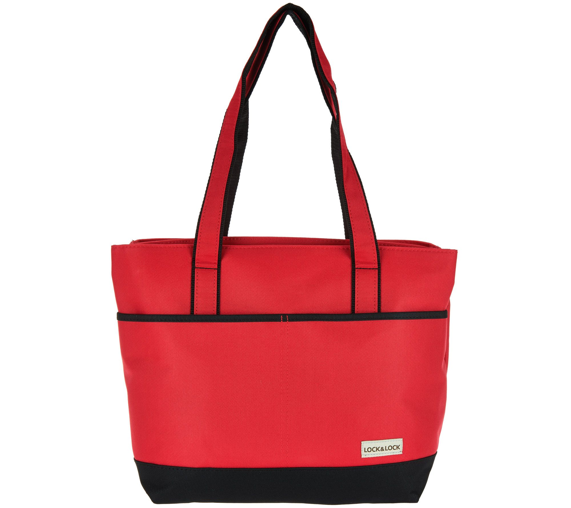 Lock Side By Double Compartment Insulated Bag Page 1 Qvc