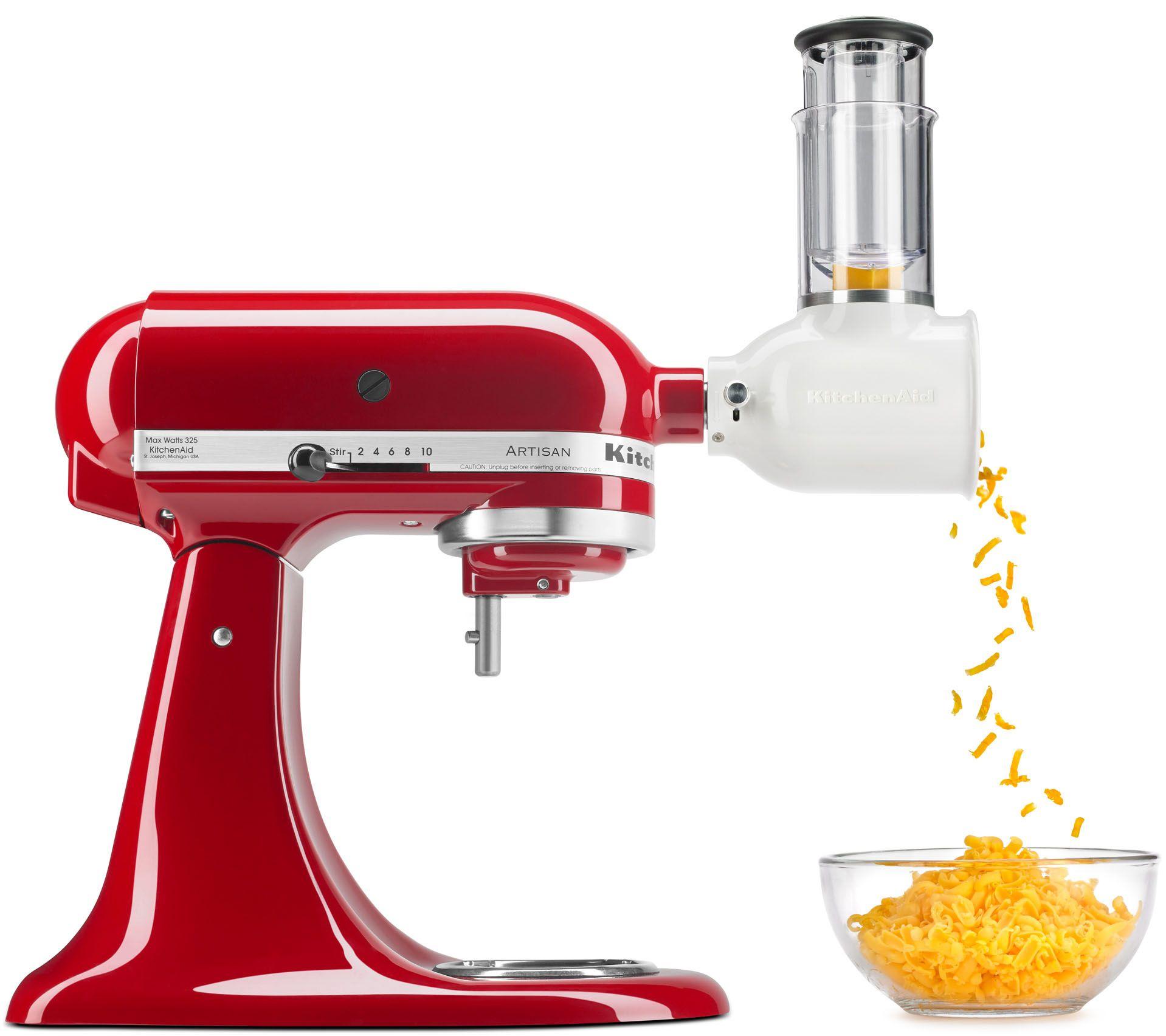 KitchenAid Fresh Prep Stand Mixer Attachment with Extra Blade — QVC.com