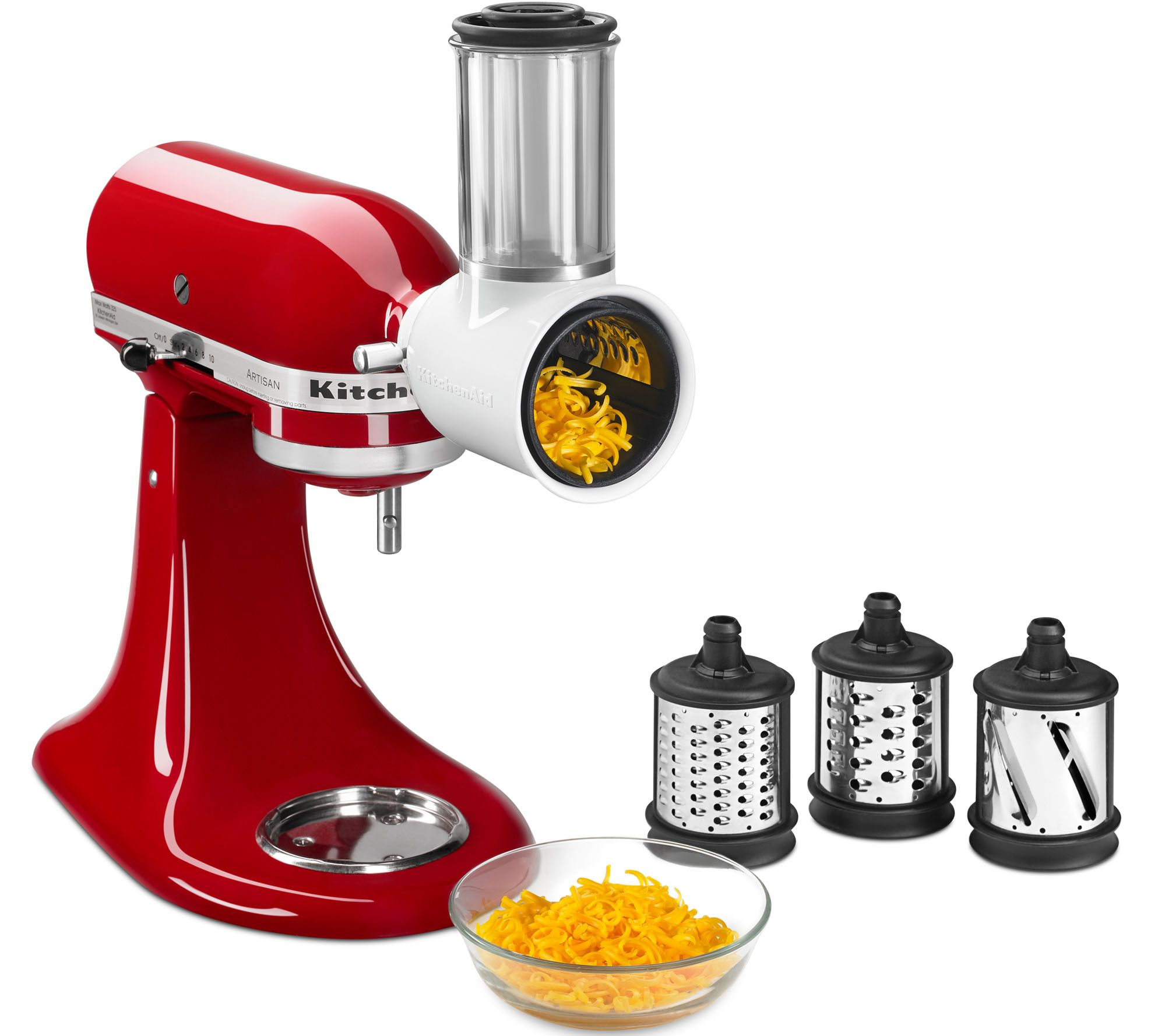 Kitchenaid Fresh Prep Stand Mixer Attachment With Extra Blade Qvc Com