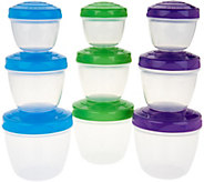 Sistema To Go 9-Piece Snack n Nest Storage Set - K46636
