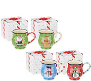 Temp-tations Set of 4 Mugs in Gift Box - K47736