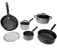 Cooks Essentials 9pc Color Smart Nonstick Cookware Set - K37437