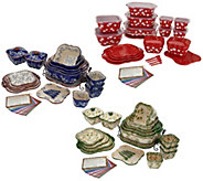 Temp-tations Old World or Floral Lace 25-piece Bakeware Set - K47037