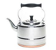 BonJour 2-Qt Stainless Steel Teakettle Copper Bottom - K128738