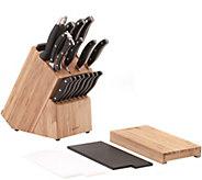 BergHOFF 20-Piece Knife Block & Cutting Board Set - K304738