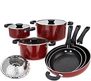 Cooks Essentials 10-Piece Nesting Cookware Set - K46338