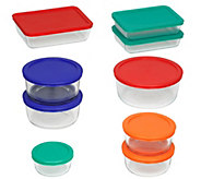 Pyrex 18-Piece Prep, Cook, Serve, and Store Set - K305739