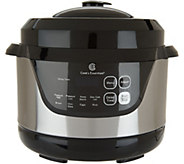 Cooks Essentials 2qt Digital Stainless Steel Pressure Cooker - K46039