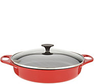 Rachael Ray 3.5-qt Cast Iron Round Braiser with Glass Lid - K46840