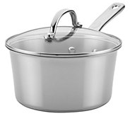 Ayesha Curry 3-Qt Stainless Steel Covered Sauce Pan - K376541