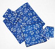 Temp-tations 6-Piece Printed Microfiber Kitchen Towel Set - K48741