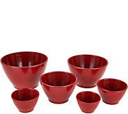 Rachael Ray 6-piece Melamine Measuring Cups - K45542