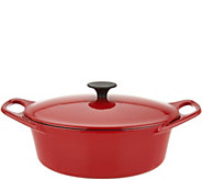 Rachael Ray 3.5-qt Cast Iron Oval Covered Dutch Oven - K46842