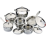 BergHOFF Cosmo 12-Piece Stainless Steel Cookware Set - K377643