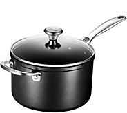 Le Creuset Nonstick 4-Qt Saucepan with Glass Lid - K306144
