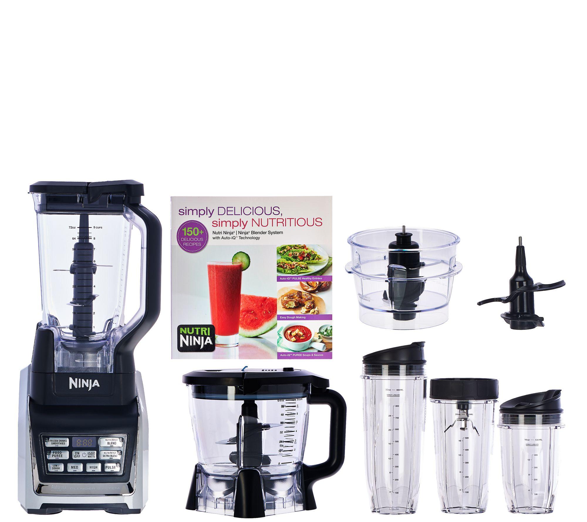 Nutri Ninja 72oz. 1500W Mega Kitchen System W/ Auto IQ U0026 Prep Bowl   Page 1  U2014 QVC.com