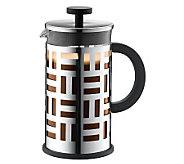 Bodum Eileen French Press Coffee Maker, SilverC hrome - K299946