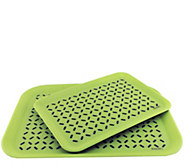 BergHOFF CooknCo Anti-Slip Serving Tray 2-PieceSet - K304746