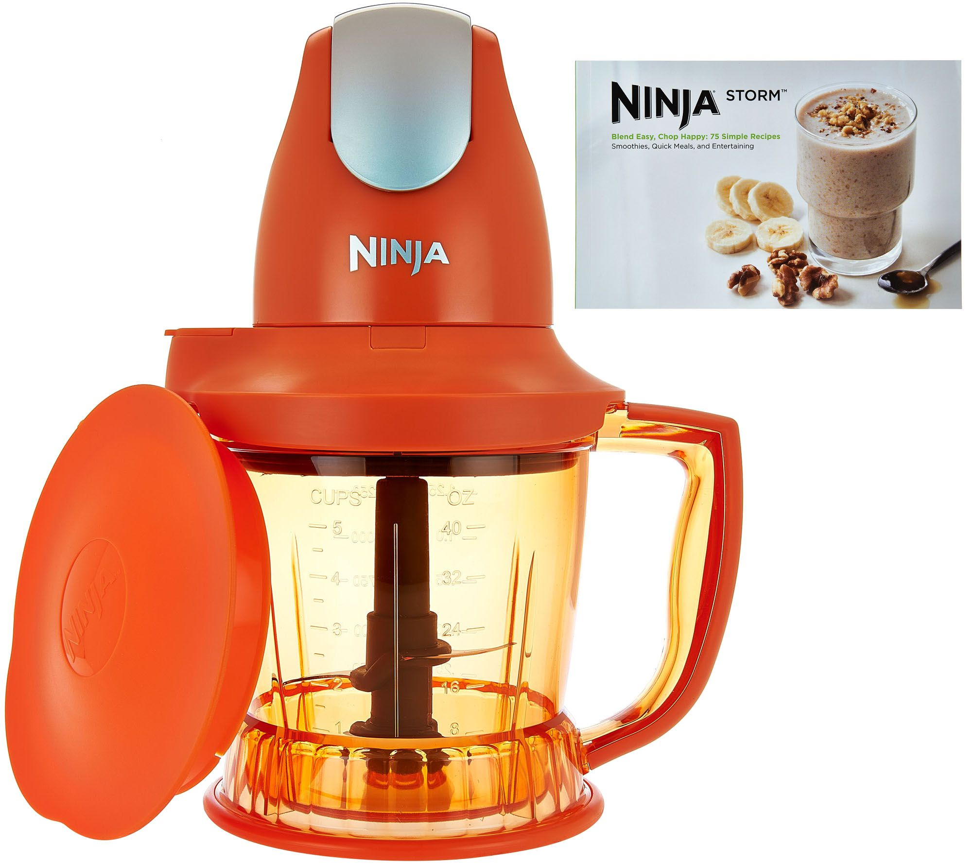 Ninja Storm Designer Series 450W 40 oz. Food & Drink Maker w/Recipes —  QVC.com