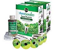 Miracle-Gro AeroGarden S/2 6-Pod Gourmet Herb Seed Pod Kits - K305347