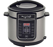 MegaChef 6-Quart Digital Pressure Cooker w/ 14Preset Features - K375247
