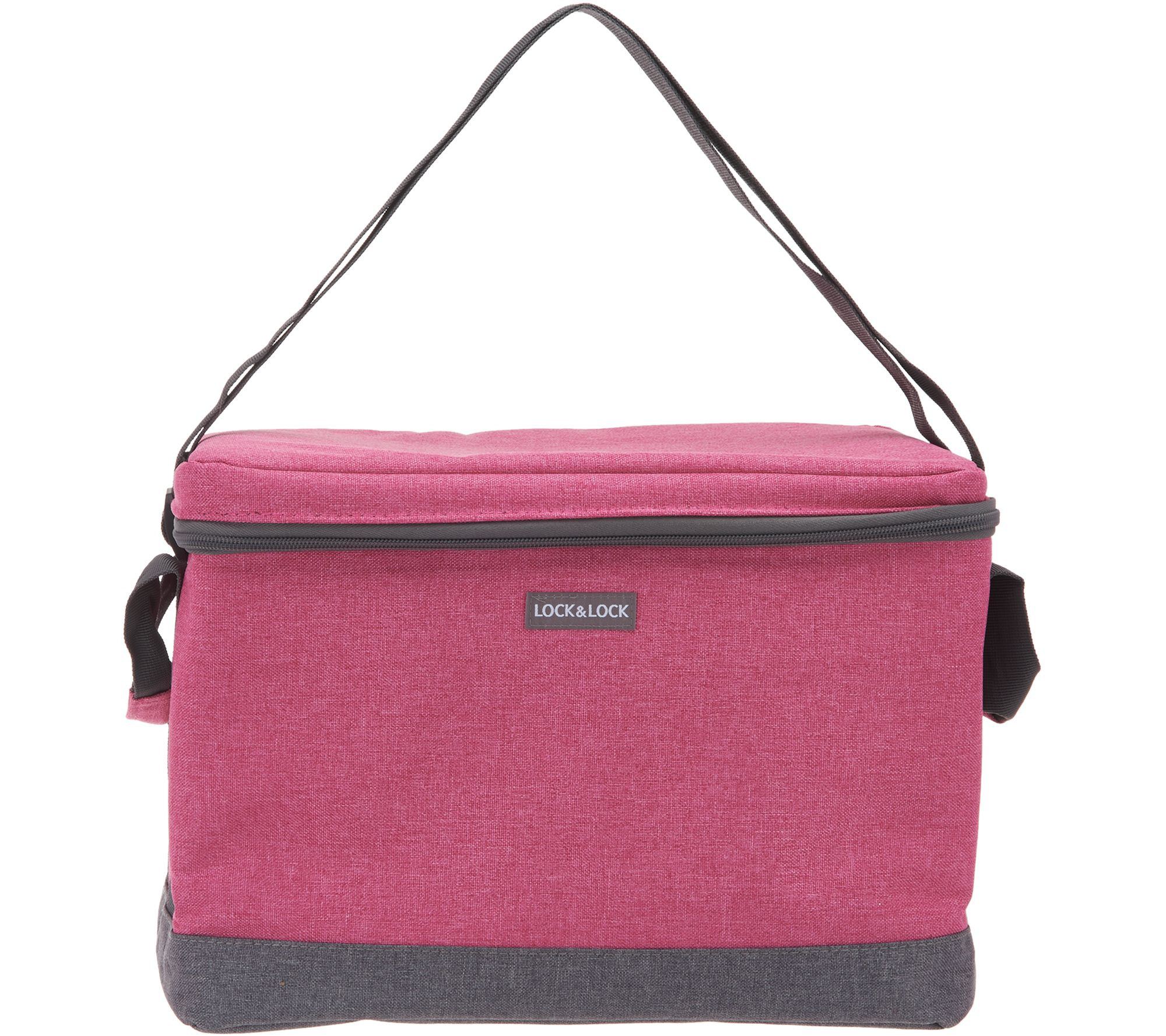f208df032c97 Lock & Lock Flat-Top Insulated Cooler Bag — QVC.com