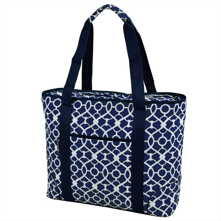 1bb68b3528e Picnic at Ascot Extra Large Insulated Cooler Bag, Trellis — QVC.com