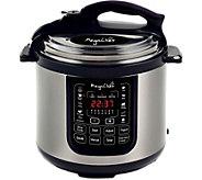 MegaChef 8-Quart Digital Pressure Cooker w/ 13Preset Features - K375249