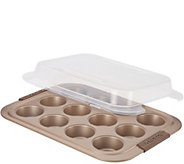 Anolon Advanced Bronze Nonstick Bakeware 12-CupMuffin Pan - K306250