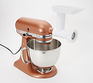 KitchenAid 5-qt 325W Tilt-Head Stand Mixer w/ Food Grinder - K48750