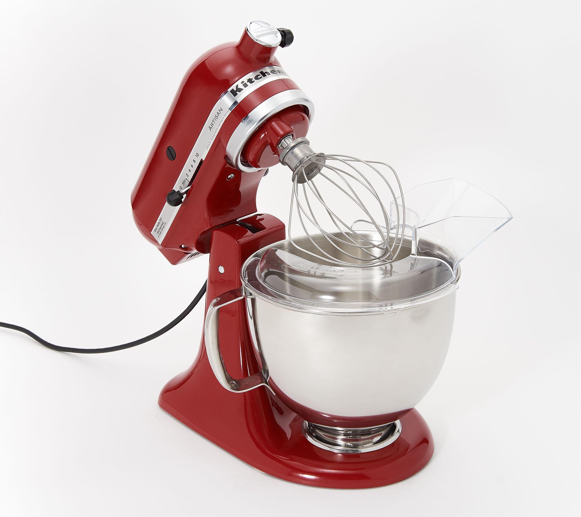 KitchenAid 5-qt 325W Tilt-Head Stand Mixer w/ Food Grinder — QVC.com