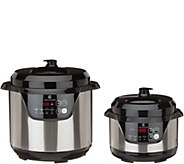 Cooks Essentials 2-qt & 6-qt Pressure Cooker Set - K48152
