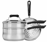 Range Kleen 4-piece Stainless Steel Cookware - K131753