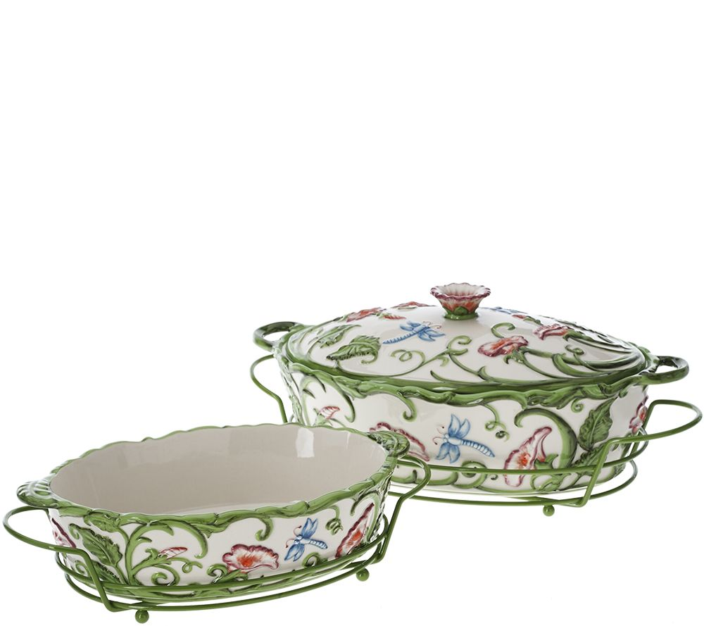 \ As Is\  Temp-tations S/2 Dragonfly Baker with Metal Racks - Page 1 \u2014 QVC.com  sc 1 st  QVC.com & As Is\