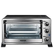 Toshiba MC25CEY-CHSS 6-Slice Toaster Oven - Stainless Steel - K378153