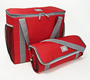 California Innovations Set of 2 Insulated Cart Totes - K48753