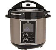 Cooks Essentials 6-qt Deluxe Pro Pressure Cooker - K47154