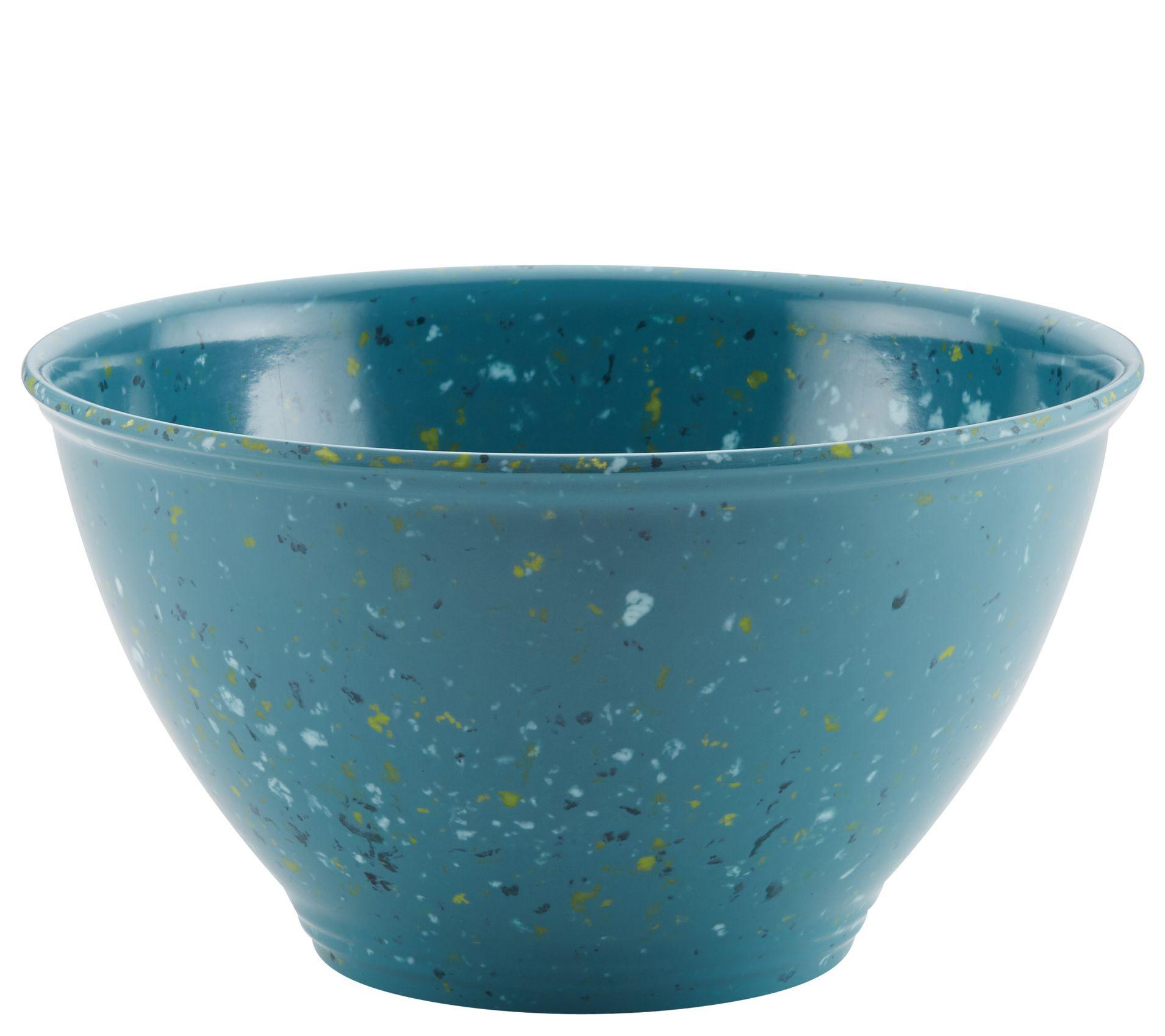 Youngs Inc Ceramic Mixing Bowl w//Spoon Multi