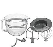 KitchenAid 6-Quart Glass Bowl Accessory Bundle - K303855