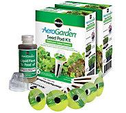 Miracle-Gro AeroGarden S/2 6-Pod Heirloom Salad Seed Pod Kits - K305355