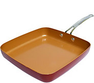 Red Copper 12 Square Pan - K375655