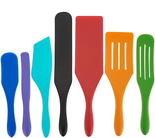 Mad Hungry 7-Piece Multi-Use Silicone SpurtleSet
